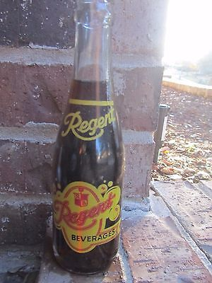 1965 7oz REGENT Beverages ACL Soda Bottle - PITTSBURGH PA