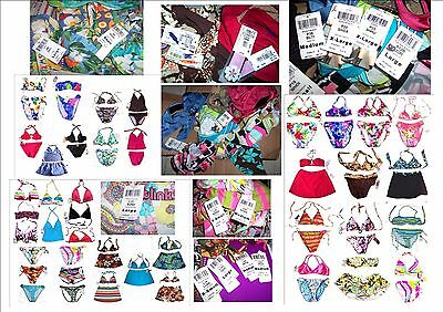 $2K+ Value Wholesale Lot of 50+ Sunsets' Brands Swimwear includes 7 Bikini Sets