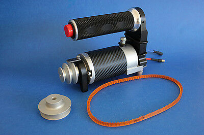 RC boat CNC High torque electric starter for marine gas engine 539T70