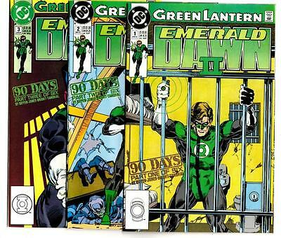 Green Lantern: Emerald Dawn II #1-6 (1991) DC VF/NM to NM