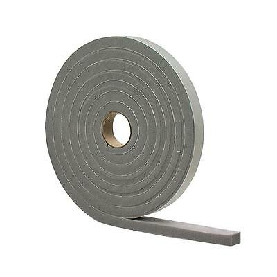 "MD 02279 Door Window Foam Tape Weather Strip Seal Insulation 1/4"" x 1/2"" x 17ft"