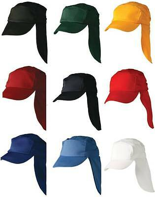 Kids Legionnaires Hat H1025 | Childrens Hats, Cap Neck Flap, Poly Cotton,