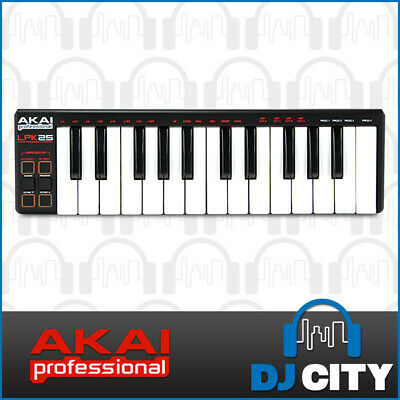 Akai LPK25 Portable 25 Key Note Keyboard Controller