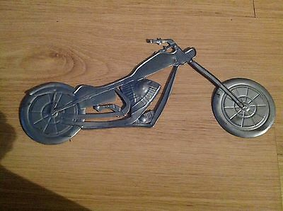 Tin Collectible Motorcycle Decoration  Wall Hanging