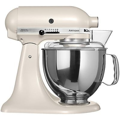 KitchenAid Stand Mixer RRk150LT Tilt Refurb Artisan Tilt Cafe Latte