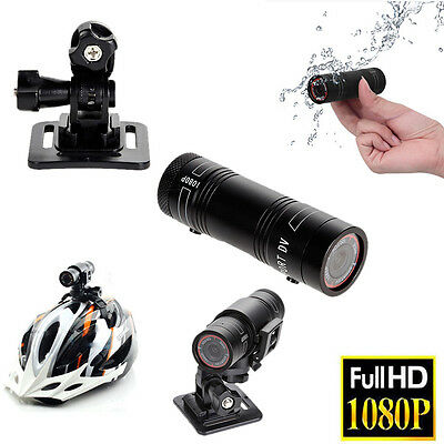 Full HD 1080P DV Motor Waterproof Sports Camera Bike Helmet Action DVR Video Cam