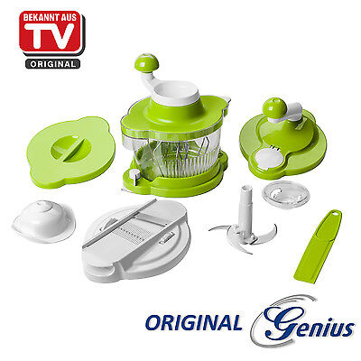 AKTIONSPREIS ORIGINAL TV Genius Twist Cutter, Set 10tlg. Mixer Cutter Hobel NEU