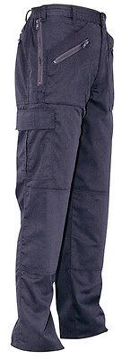 Women/'s Portwest C099 Navy Combat Trousers Fabric 210g//m2 Poly//Cotton