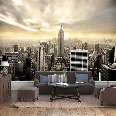 Fototapete New York Skyline View Tapete Kunstdruck Wandbild