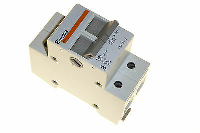 100 Amp 2 Pole isolating switch Merlin Gerin IMG1002 240V 100A