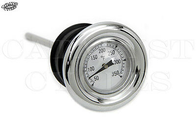 Oil Dipstick with Oil Temperature for Harley Softail or Sportster Oil Tank Plug