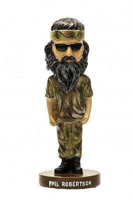 "8"" authentic Duck Dynasty Duck Commander Phil  Robertson bobbleheads"