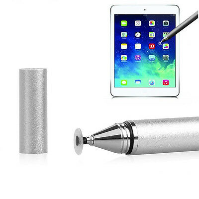 2 in 1 Metal Capacitive Touch Screen Stylus Ballpoint Pen for iPhone iPad Tablet