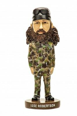 "8"" authentic Duck Dynasty Duck Commander Jase  Robertson bobbleheads"