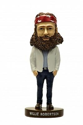 "8"" authentic Duck Dynasty Duck Commander Willie Robertson bobbleheads"
