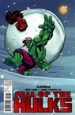 Fall of the Hulks Gamma One-Shot Variant Cover by Ed Mcguinness