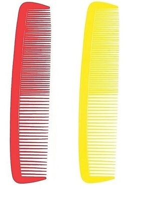 """Giant Comb Plastic Novelty Prop for Circus Clown Fancy Dress Access 14"""" x 3"""""""