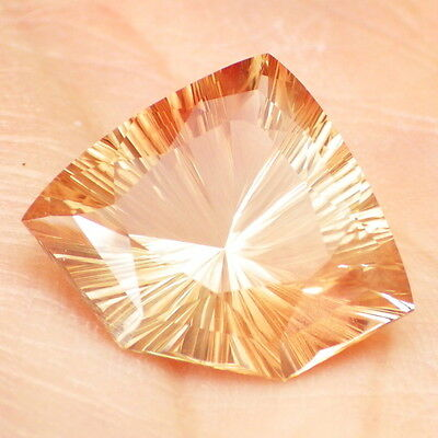 PINK ORANGE GOLD SCHILLER OREGON SUNSTONE 9.20Ct FLAWLESS-AMAZING JEWELRY!!