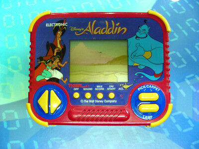 Aladdin Disney - Gioco Lcd Tiger Electronic 1990 Game & Watch Usato