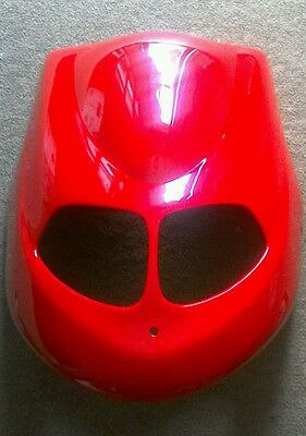 New TGB  Delivery Scooter Front  Headlight Plastic Cover OEM Red Hood Express