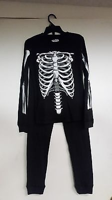 new boys joe boxer 4 pc.skeleton pajamas