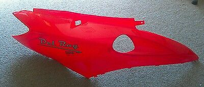 NEW Right Side Rear Fender for CPI B05 QLink Achilles 150  Peirspeed Delray Red