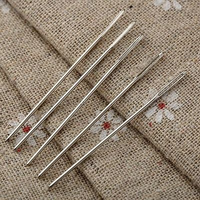 5Pcs Blunt Darning Needle Big Eye Embroidery Tapestry Needle Sewing Craft Tool