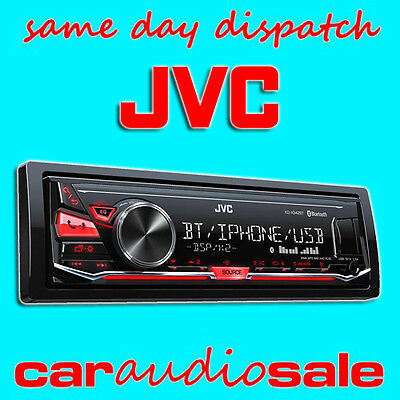 Jvc Kd X342Bt Mechless Aux Usb Mp3 Bluetooth Ipod Iphone Android Car Van Stereo