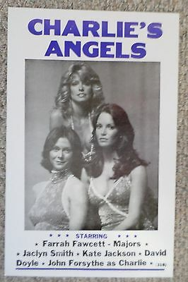 Charlie's Angels Television Show Poster Print