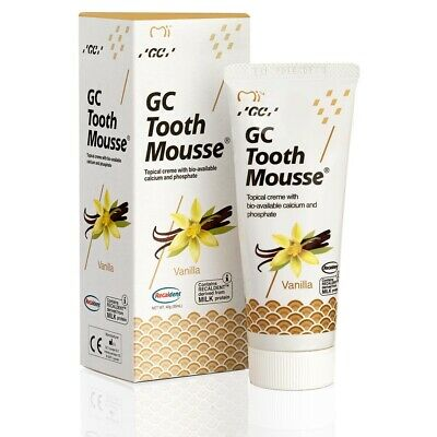 GC Tooth Mousse Zahnpasta 35ml Tube Vanille
