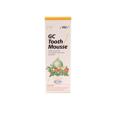 GC Tooth Mousse Zahnpasta 35ml Tube Tutti Frutti