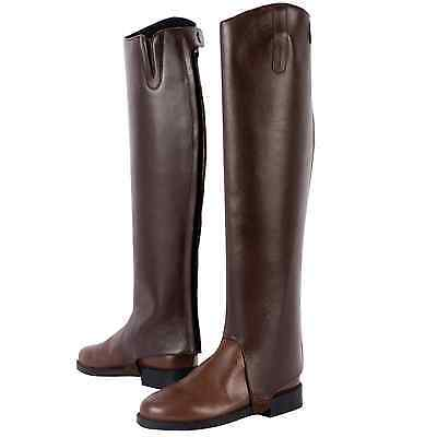 Dublin Leather Daily Gaiters Adult Black, Brown