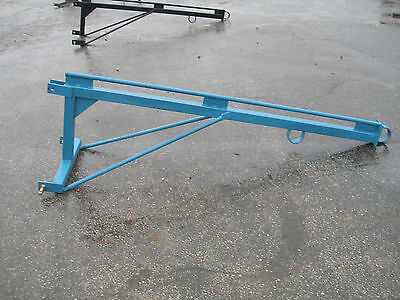 New 3 Point Hitch Boom Pole Blue  # 0914