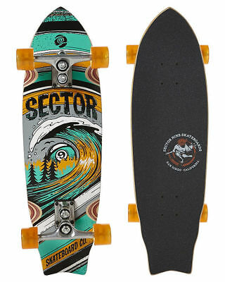 Sector Nine Wave Park Complete Skateboard Longboard Skate Sector 9 New Bamboo