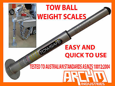 Tow Ball Weight Scales - Caravan Trailer Tongue Towball 4Wd 4X4