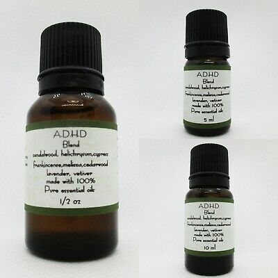 A.D.H.D. Blend  Made with 100% pure essential oils buy 3 get 1 Free add 4