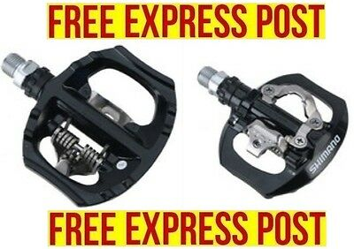 SHIMANO Touring Road Bikes SPD Pedals PD-A530 Black EXPRESS POST