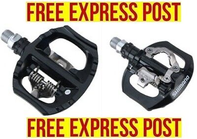 SHIMANO Touring Road Bikes SPD Pedals PD-A530 Silver EXPRESS POST
