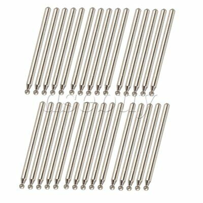 30pcs 2.5mm Sphere Point Diamond Burr Glass Drill Bits for Engraving Rotary Tool