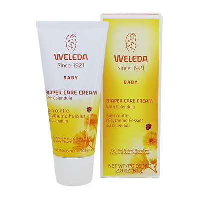 Weleda Calendula Diaper Rash Cream / Baby Barrier Balm / Natural Nappy Care