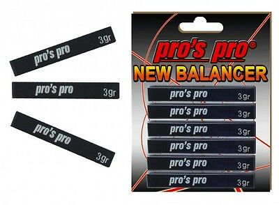 Pro's Pro New Balancer Lead Tape Power Strips - Tennis Racket Golf Clubs