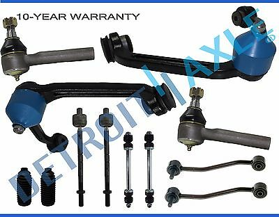 NEW 12-Pc. Front and Rear Suspension Kit Ford for Explorer Ranger Mountaineer
