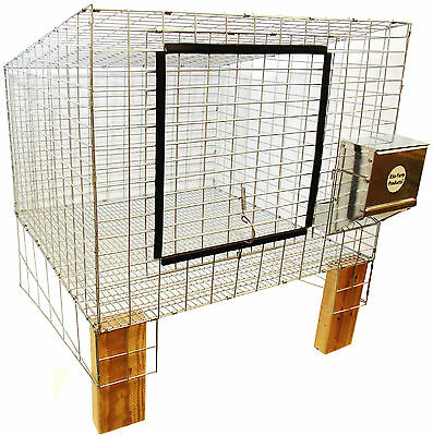 "1 Rite Farm Products Complete 24""x24"" Wire Rabbit Cage Bunny Indoor Outdoor Meat"