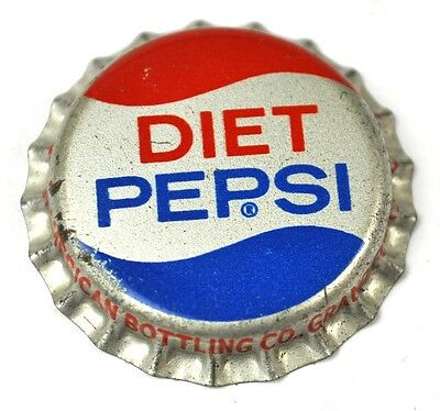 Diet Pepsi Cola Kronkorken USA Soda Bottle Cap Korkdichtung