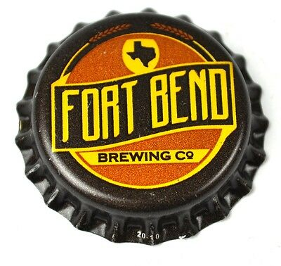 Fort Bend Brewing Beer Bier Kronkorken USA Bottle Cap Plastikdichtung