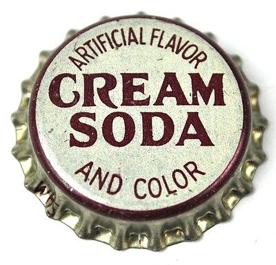Cream Soda Kronkorken USA Bottle Cap Korkdichtung