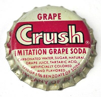 Crush Imitation Grape Soda Kronkorken USA Bottle Cap Korkdichtung