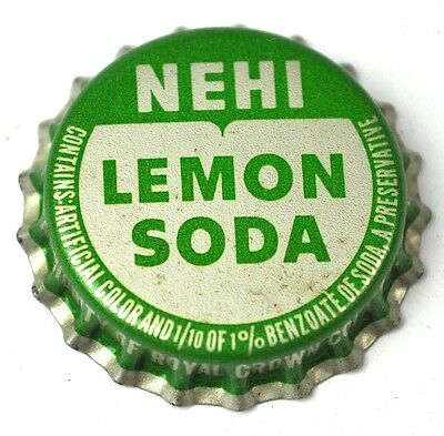Nehi Lemon Soda Kronkorken USA Bottle Cap Korkdichtung