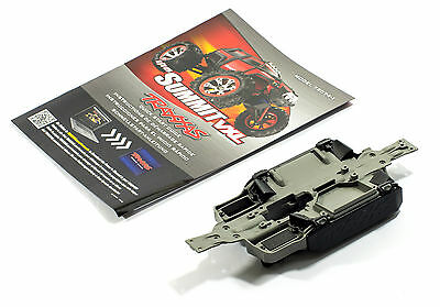 TRAXXAS 1/16 Mini VXL Summit Plastic Chassis, battery trays, vents & manual set