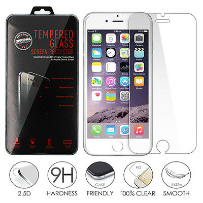 Premium Tempered Glass Screen Protector for Apple iPhone 6 & iPhone 6S 4.7""